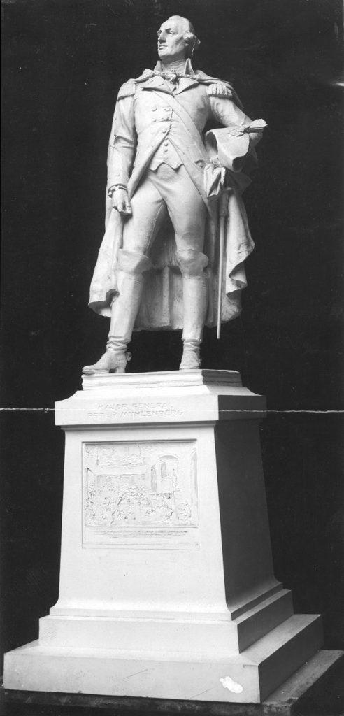 John Peter Gabriel Muhlenberg statue, 1910