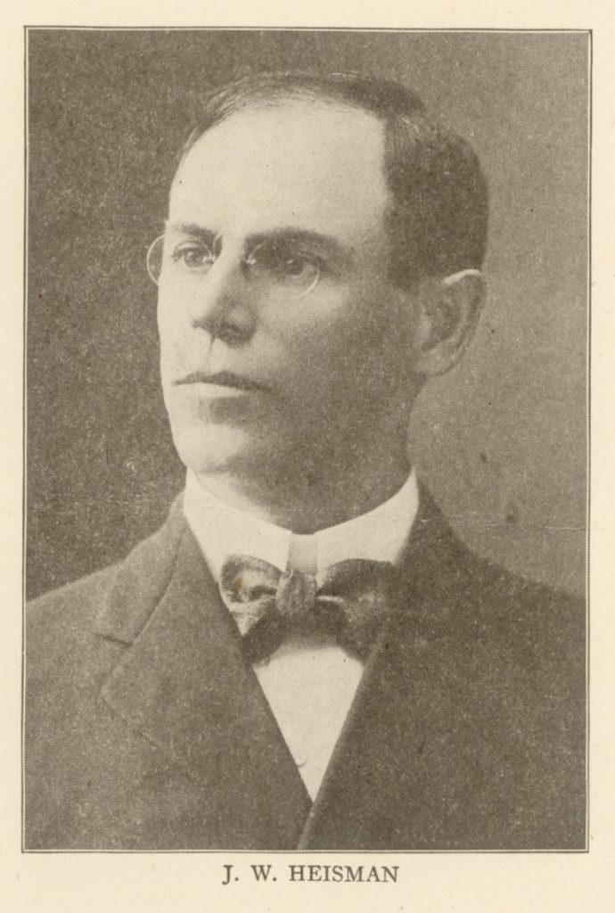 John William Heisman, c. 1908