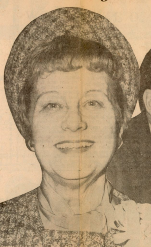 Margaret Majer Kelly, c. 1975