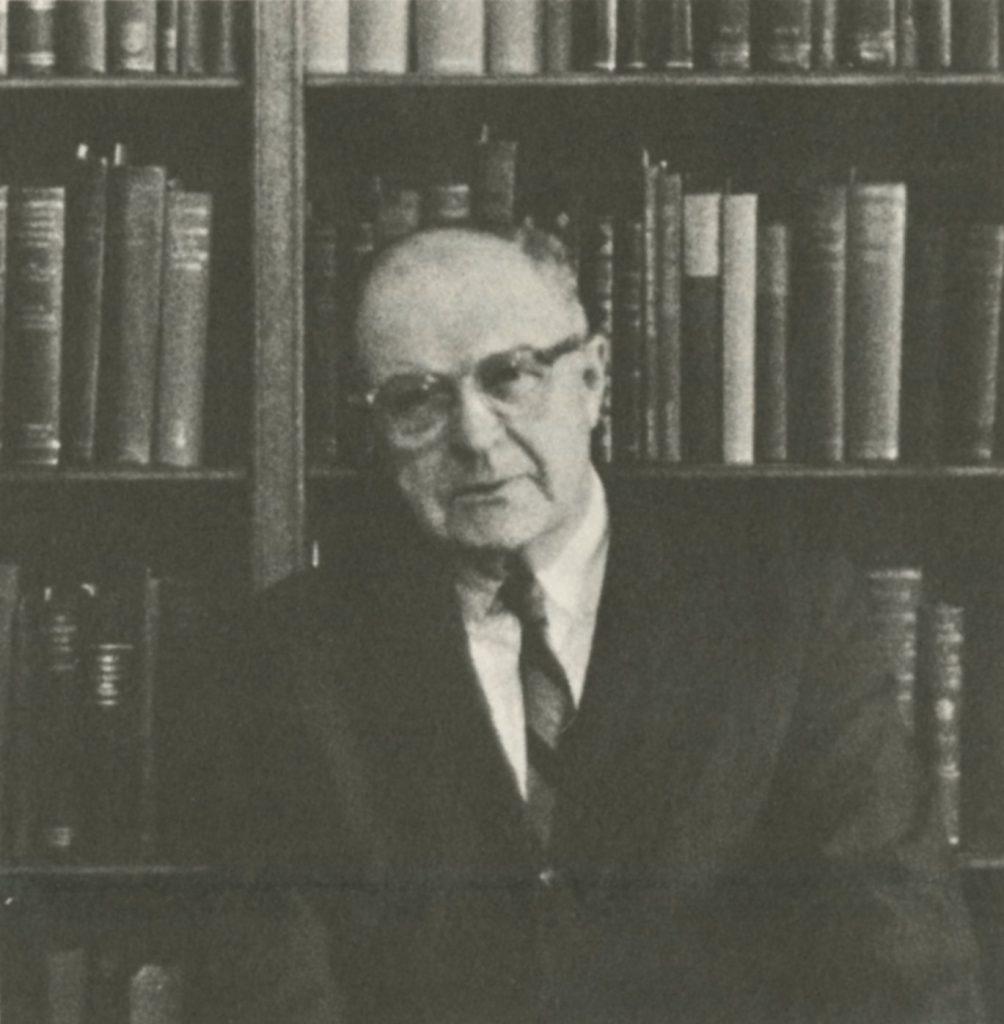 Matthias Adam Shaaber, c. 1968