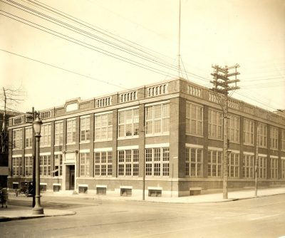 Moore School (originally the Pepper Musical Instrument Factory, built 1909), 1929