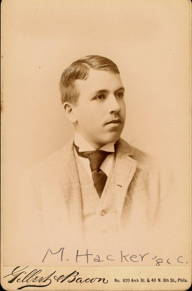 Morris Hacker, Jr., c. 1890