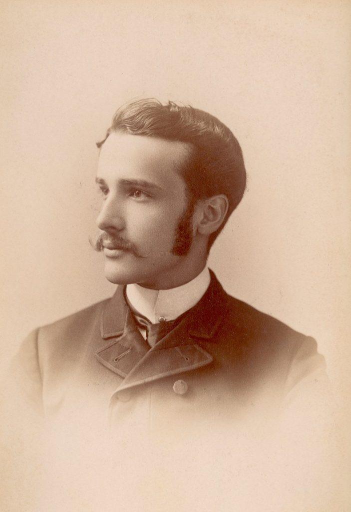 Oliver Huckel, c. 1887