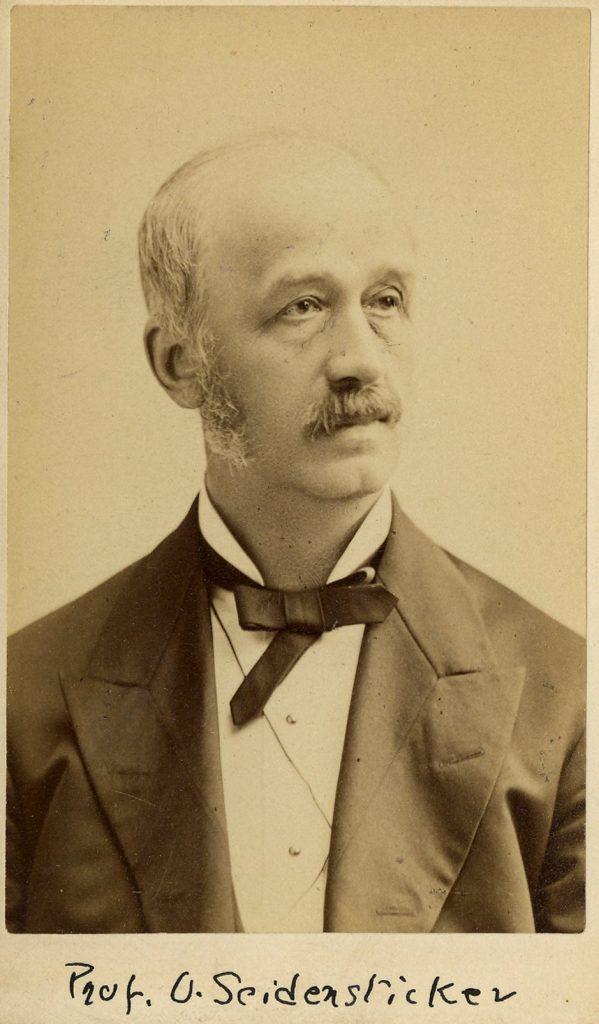 Oswald Seidensticker, c. 1880