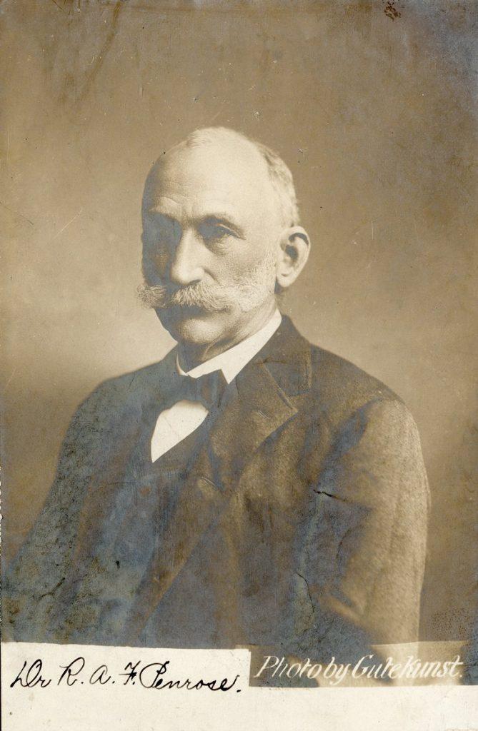 Richard Alexander Fullerton Penrose, c. 1890