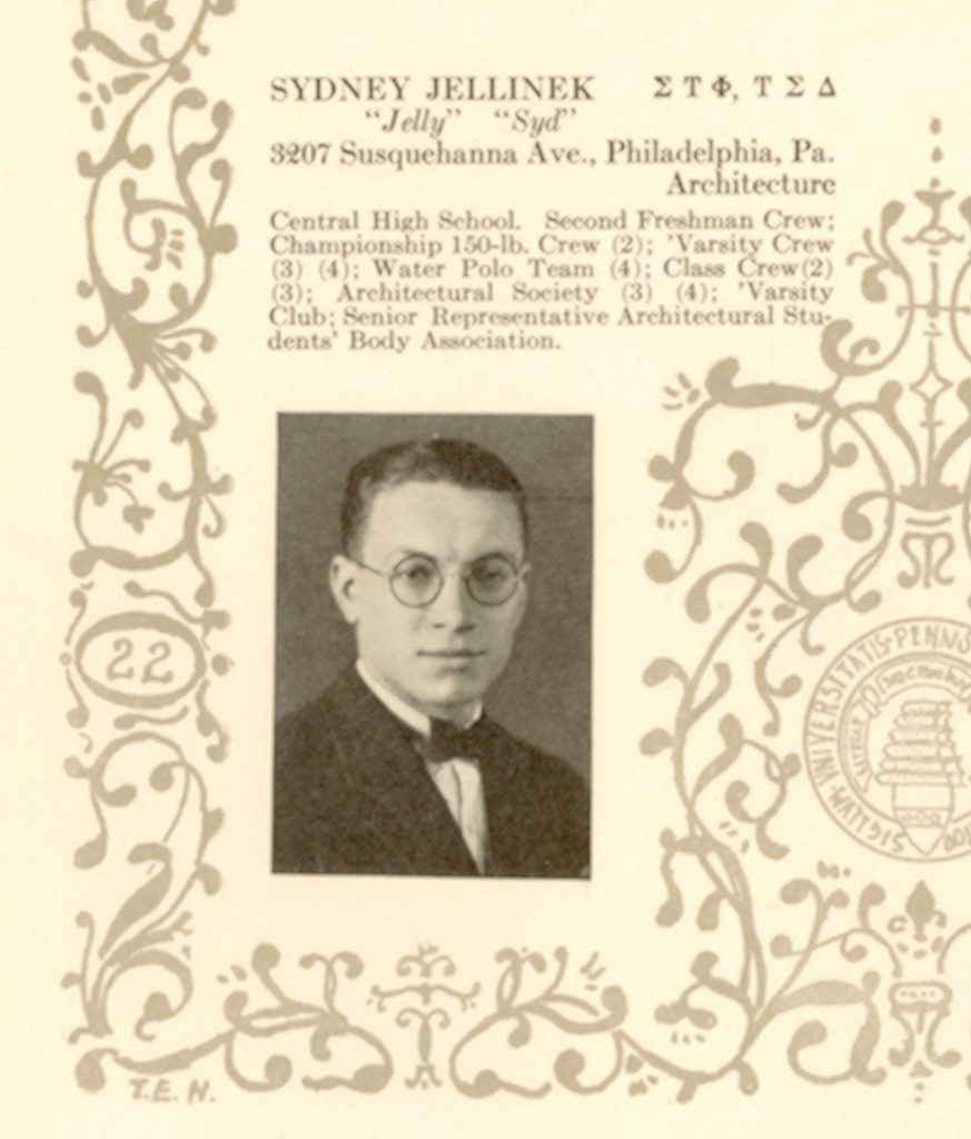 Sidney Jellinek, 1923