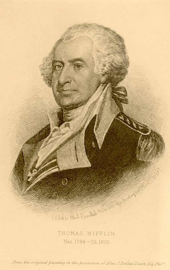 Thomas Mifflin, c. 1790