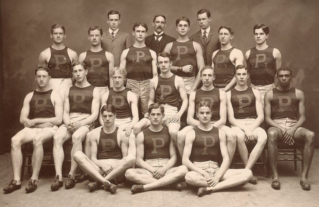 Varsity track team, 1905