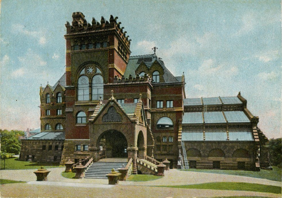 University Library (now Fisher Fine Arts Library), c. 1900