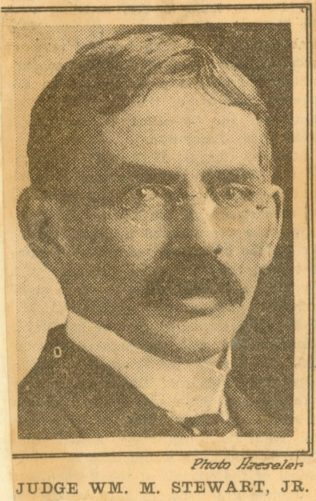 William Moore Stewart, Jr., c. 1910