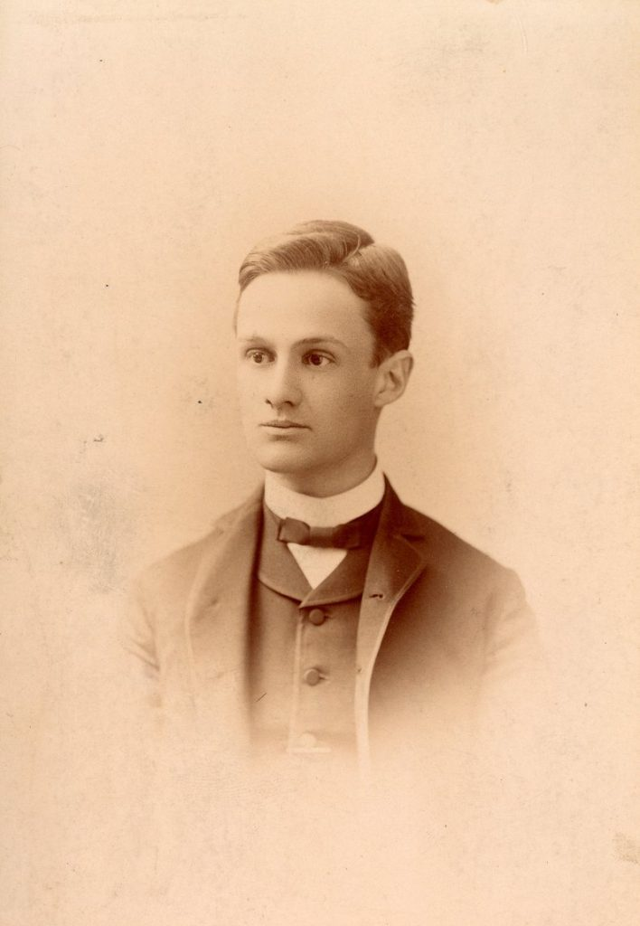 William Romaine Newbold, c. 1887