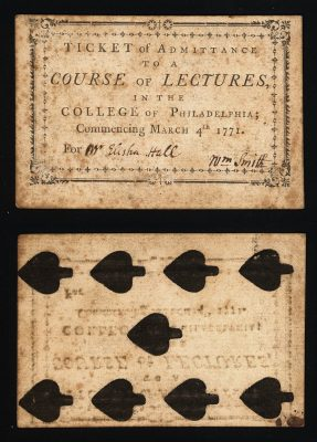 General Administration Collection Pre-1820 | University