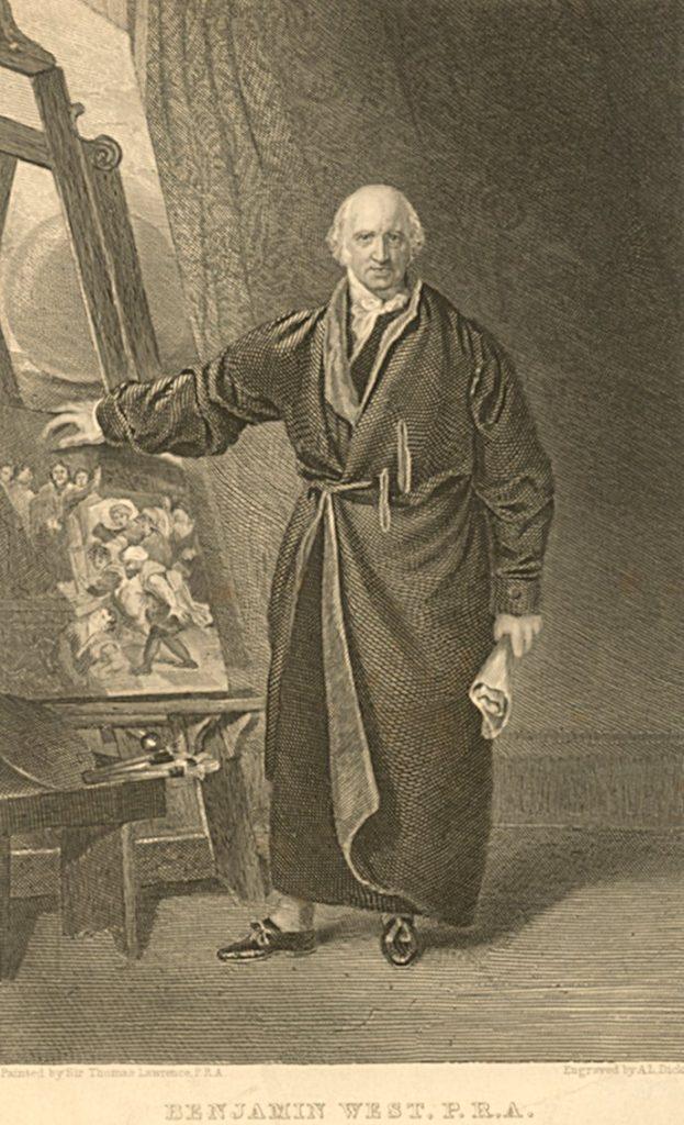 Benjamin West, c. 1800
