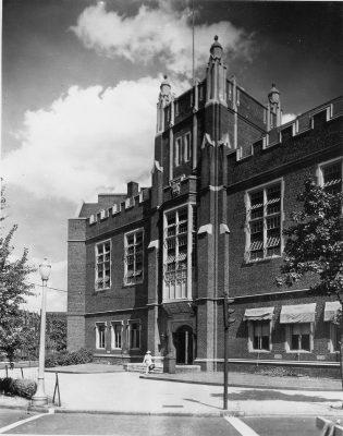Bennett Hall, c. 1950