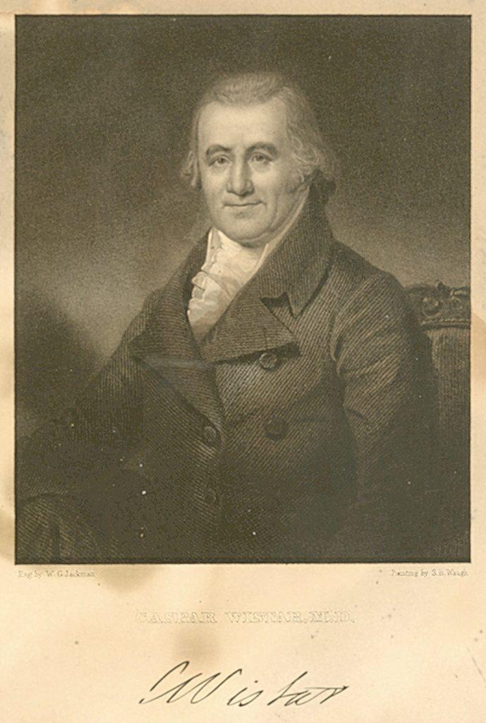Caspar Wistar, c. 1800