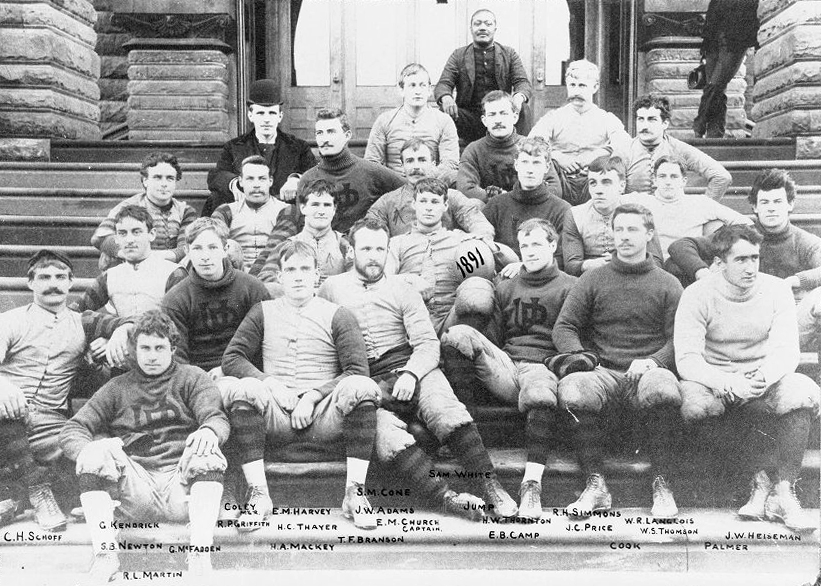 Varsity football team, 1891