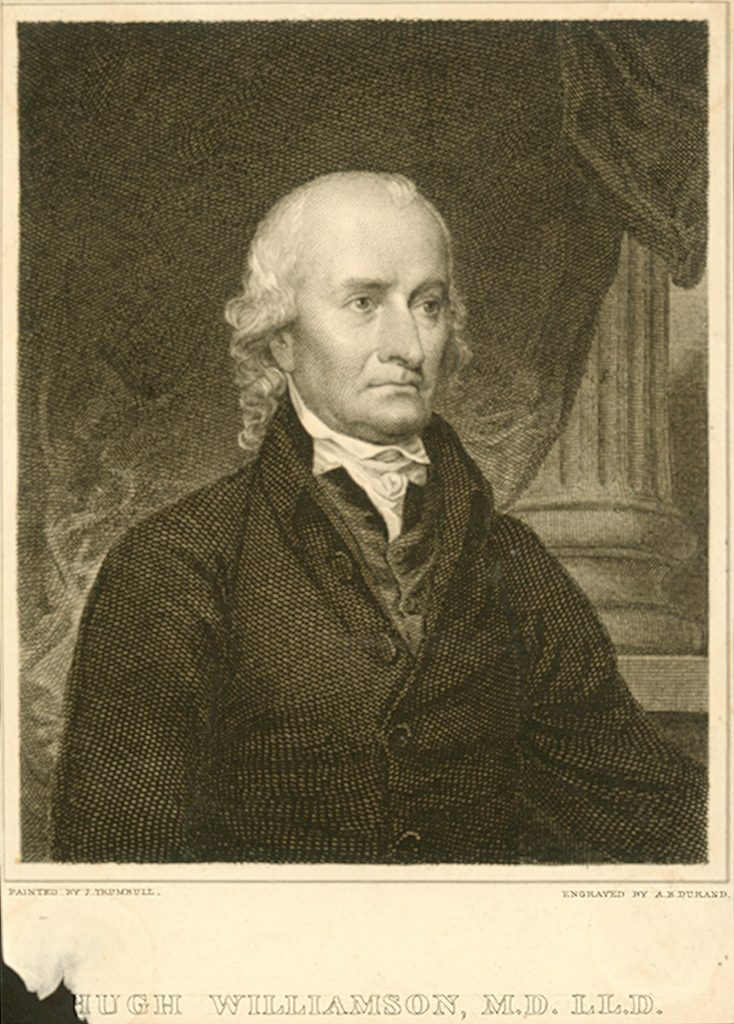 Hugh Williamson, c. 1790