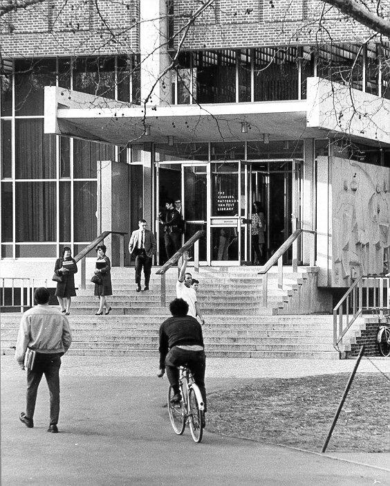 Charles Patterson Van Pelt Library, c. 1965