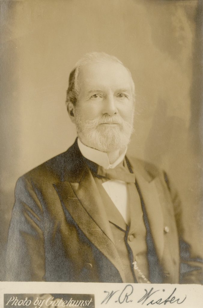 William Rotch Wister, c. 1880