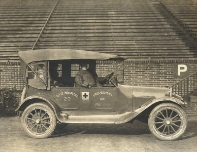 Base Hospital No. 20, ambulance, 1918
