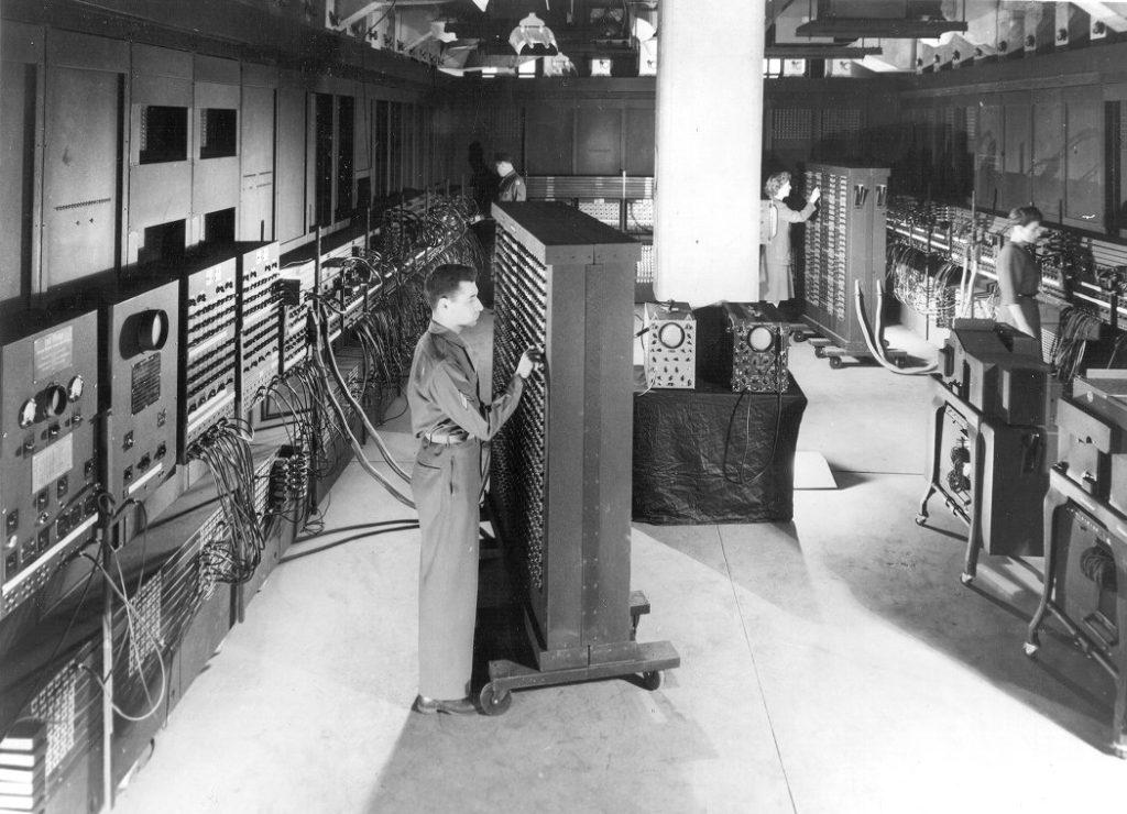 ENIAC programmers, c. 1946