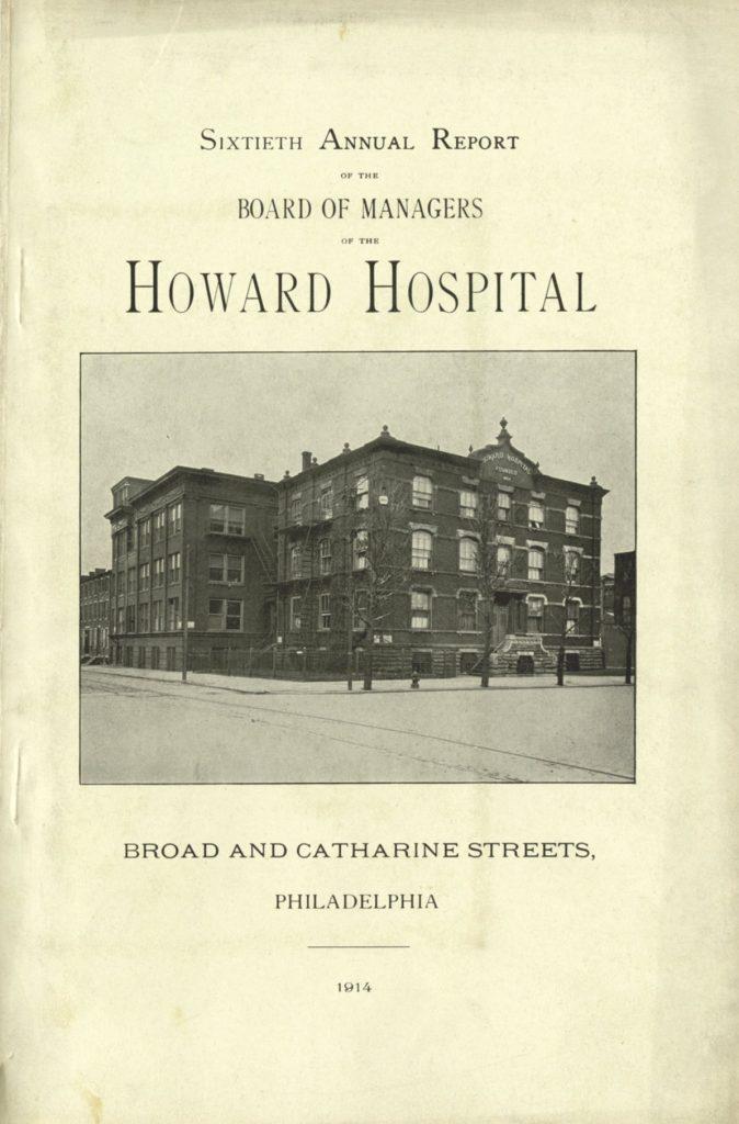 Howard Hospital, 1914