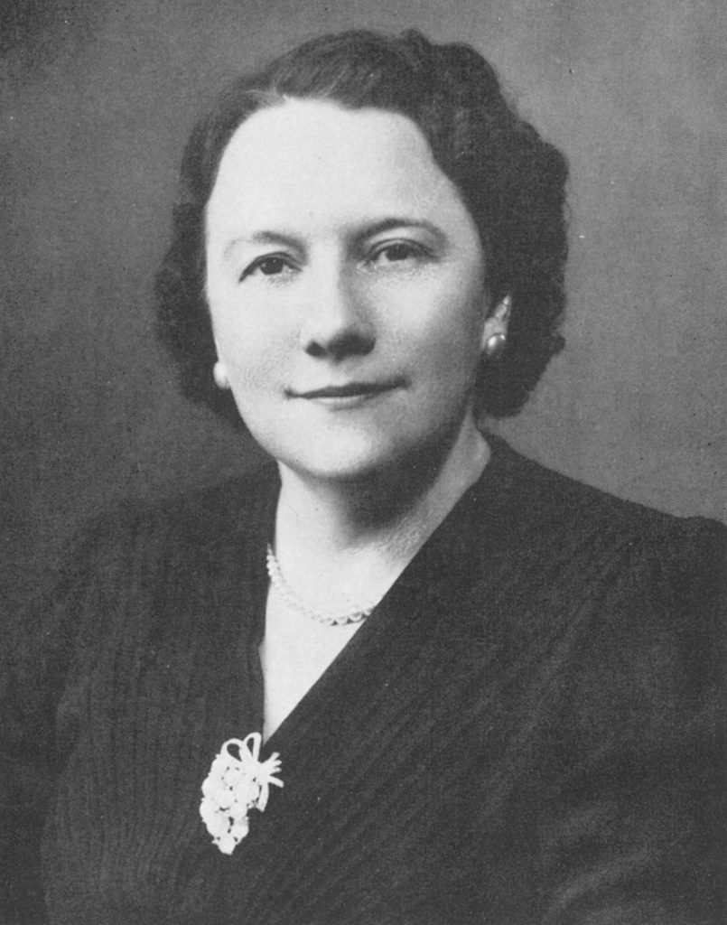 Althea Kratz Hottel, c. 1945