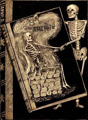 Cremation Exercise, program book, 1883