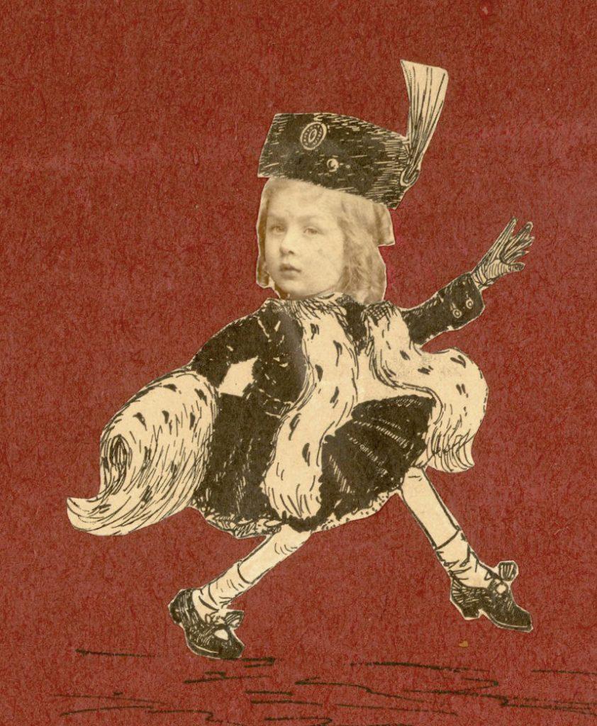 Elizabeth Madeira, caricature, 1909