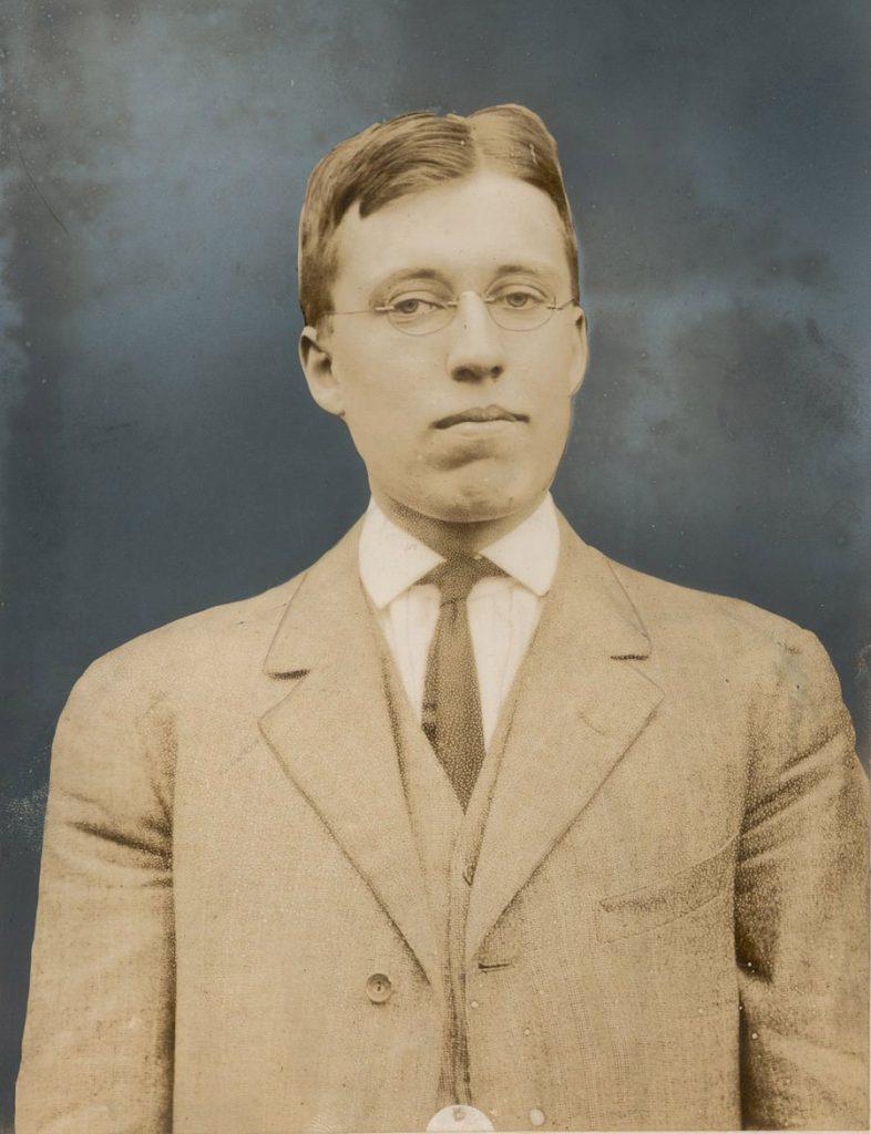 George Atwell Richardson, first president of IAAA, c. 1914
