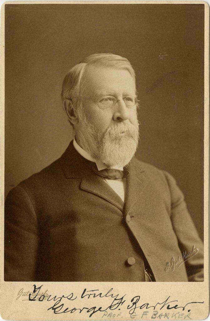 George Frederick Barker, c. 1900