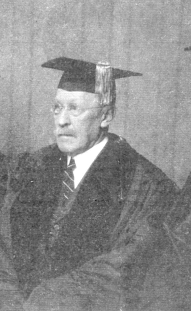 Louis Childs Madeira, receiving an honorary degree from the University of Pennsylvania Law School, 1926