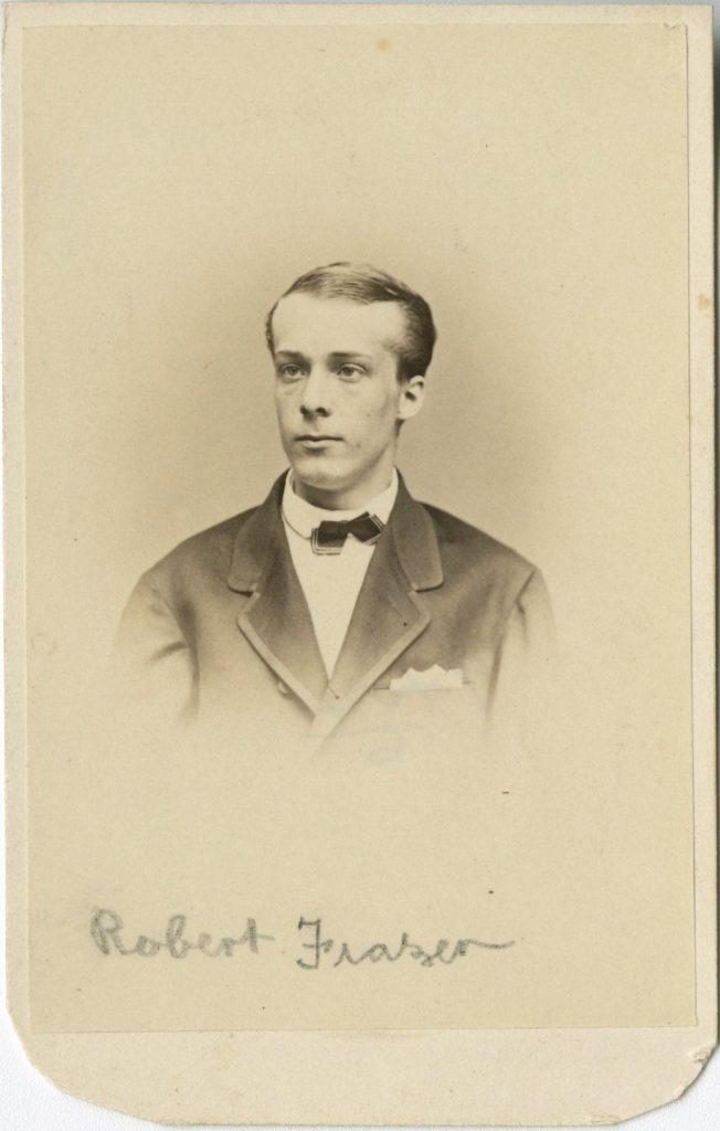 Robert Frazer III, 1867