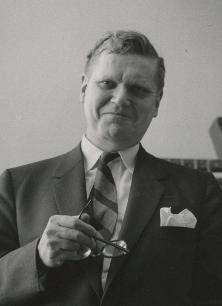 Theodore Hornberger, c. 1974