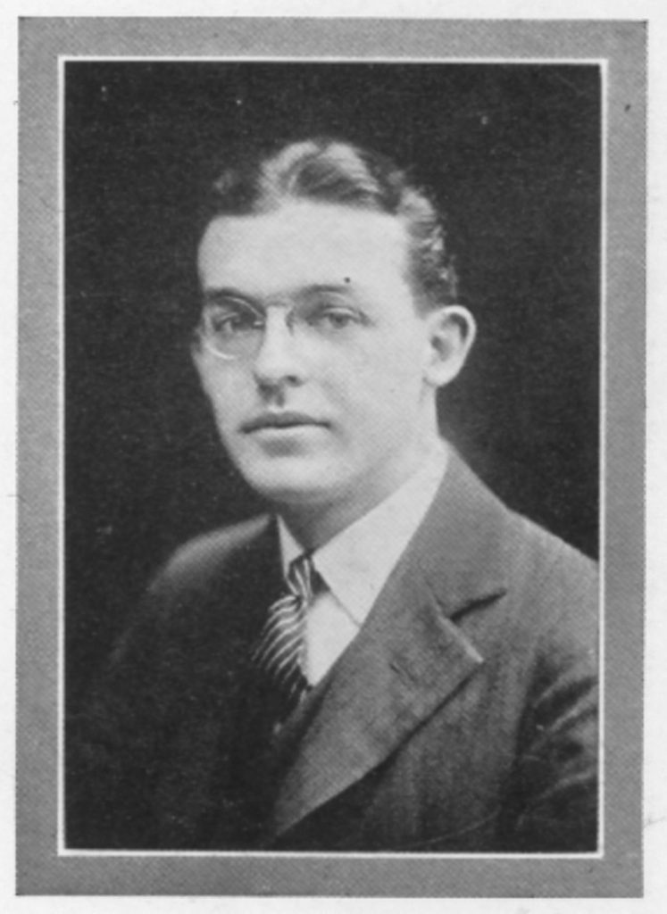 William Rhys Jones, 1921