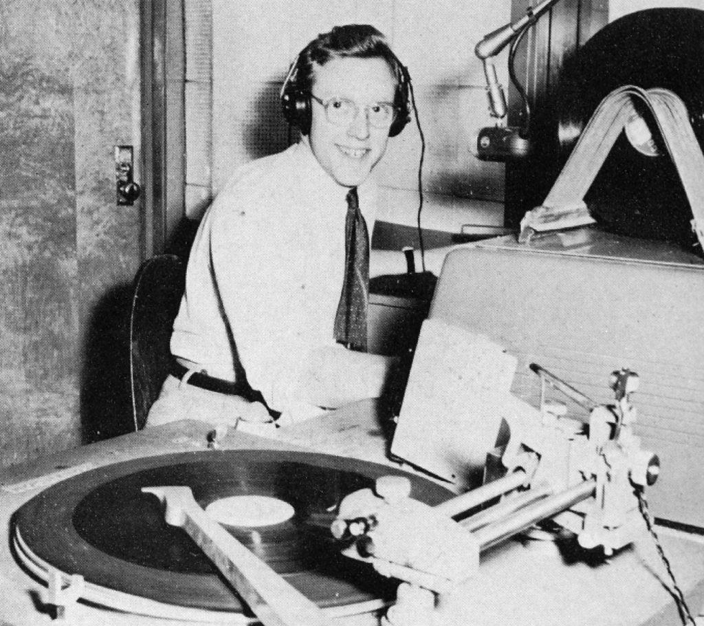 WXPN DJ, 1952