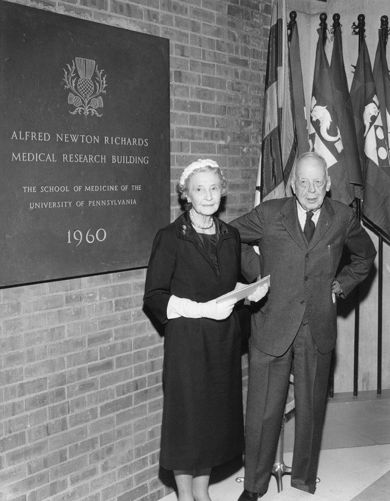 Alfred Newton Richards, 1960