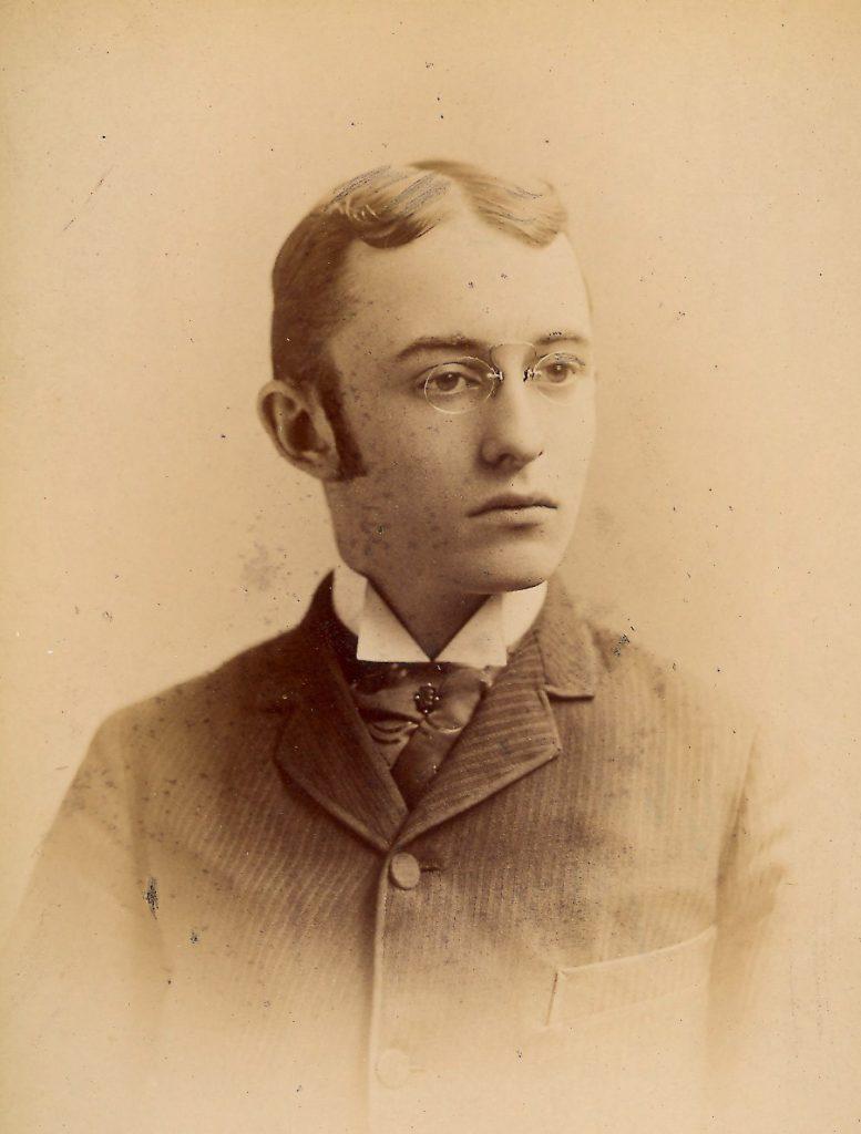 Daniel Bussier Shumway, c. 1889
