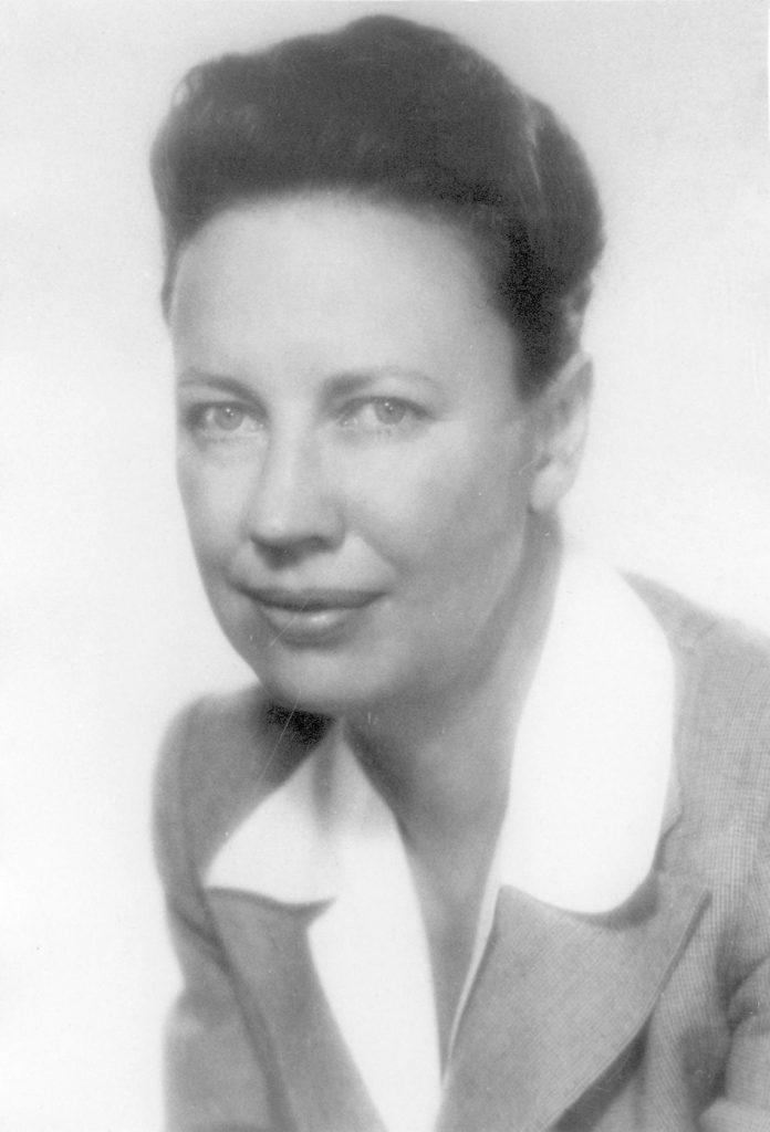 Dorothy Swain Thomas, c. 1970