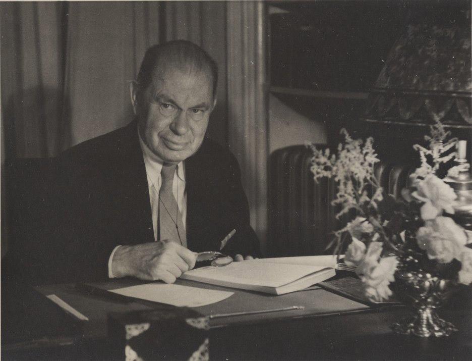 Edgar Arthur Singer, Jr., 1941