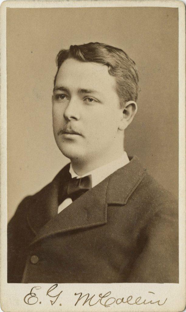 Edward Garrett McCollin, 1878