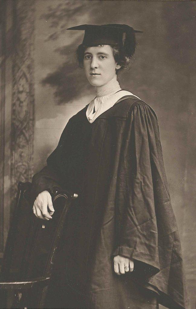 Ella Elizabeth Wilhelmina Schmelz, c. 1918