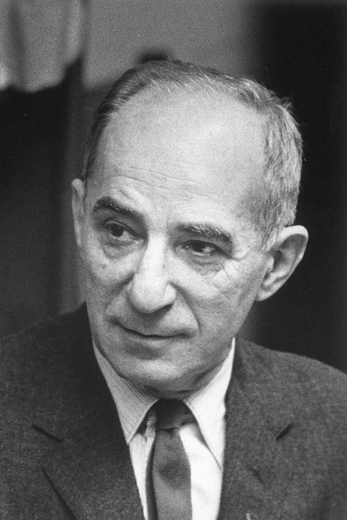 Ephraim Avigdor Speiser, c. 1960