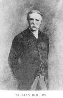 Fairman Rogers, c. 1890