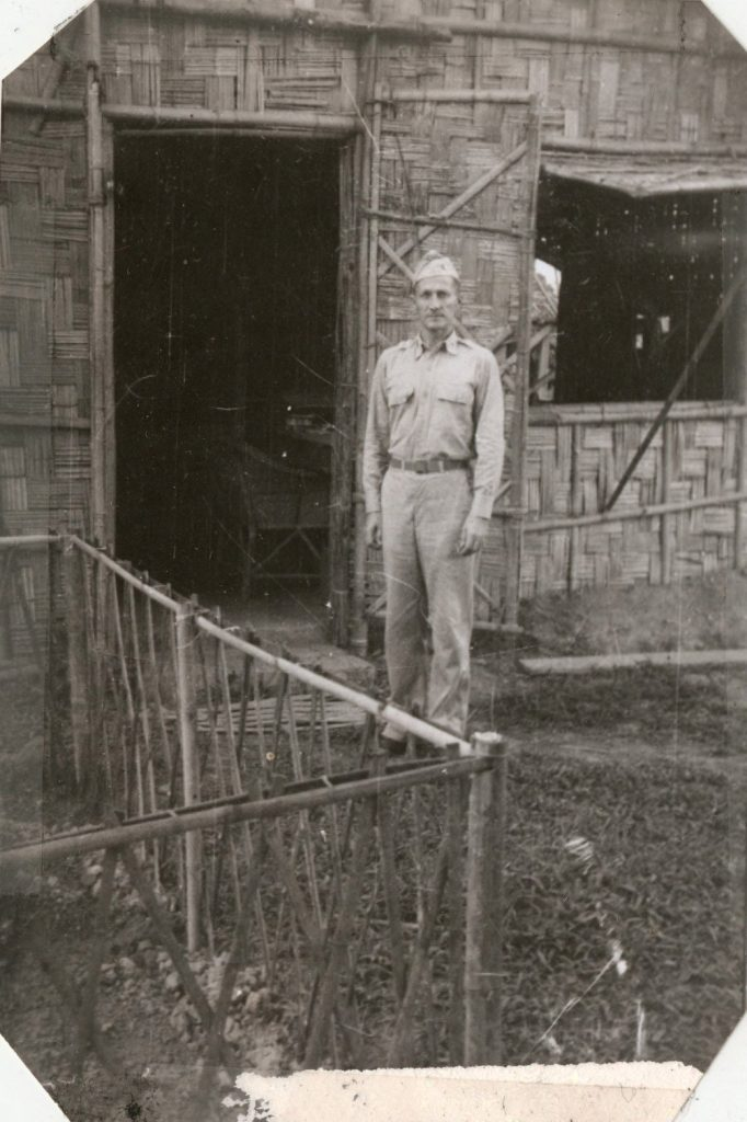 Father Louis Joseph Meyer, with the 20th General Hospital in Burma, c. 1943
