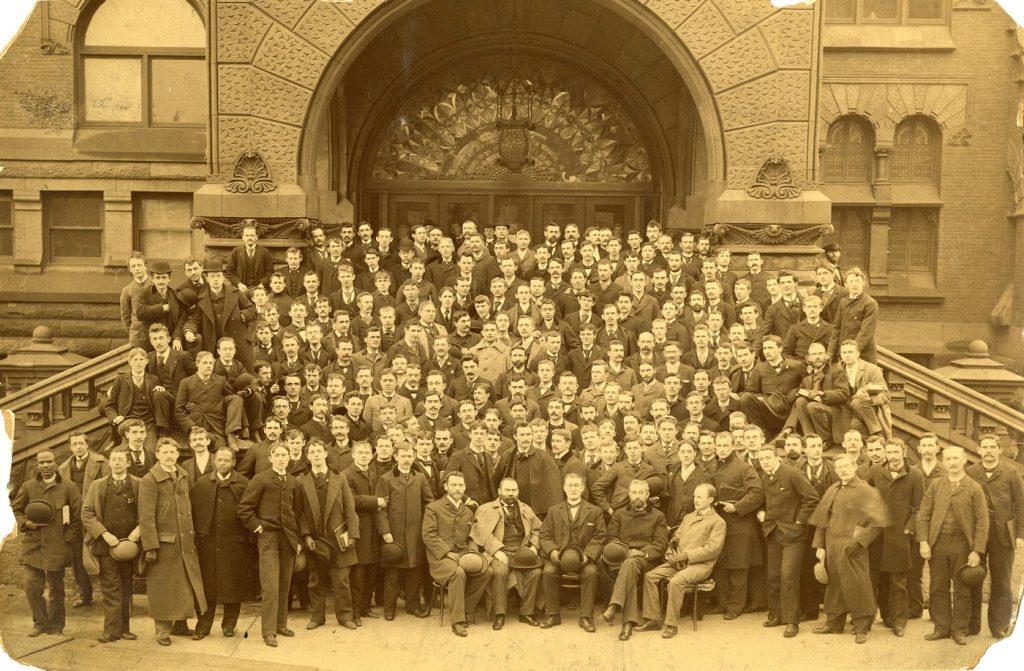 Medical class, c. 1895
