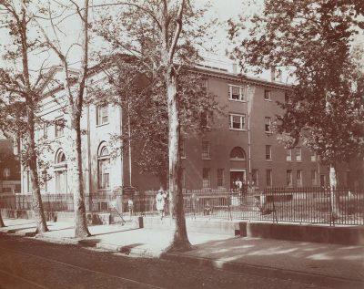 Medical Hall on Ninth Street campus, 1872
