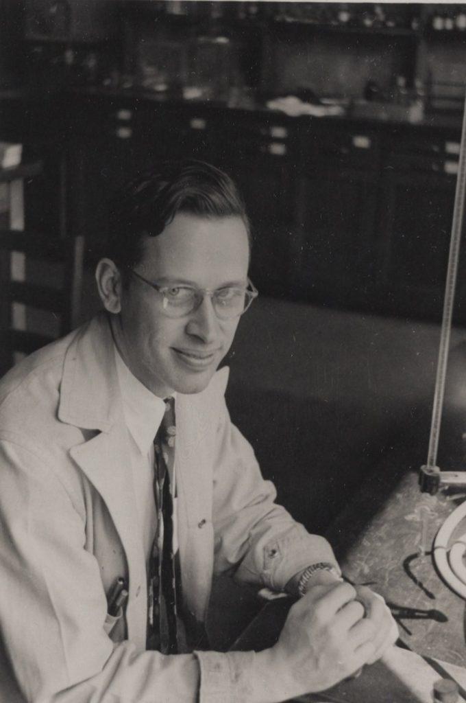 Richard Bunker Singer, c. 1946