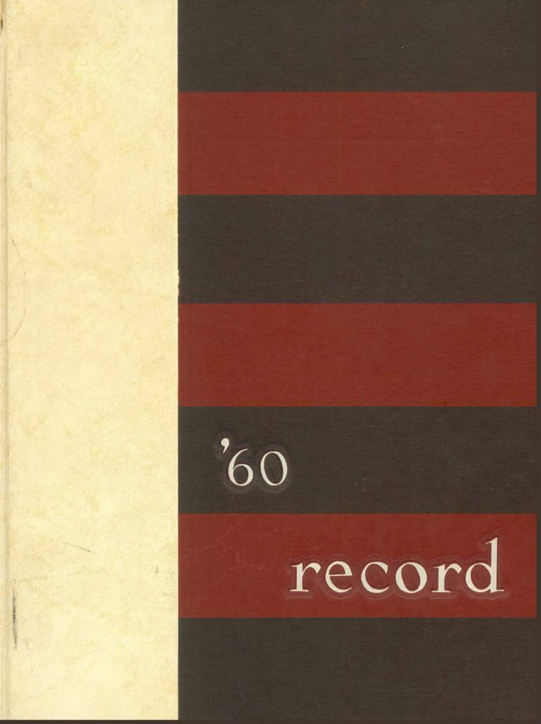 The Record, cover, 1960
