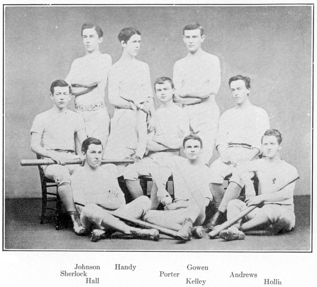 Baseball team, 1873-1874